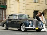 veteran na svadbu, historicky automobil