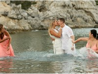 styl foto trash the dress