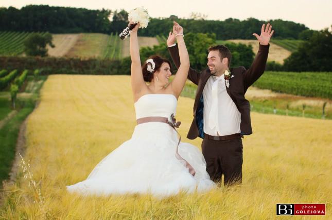 25 psenica pole fotenie svadba