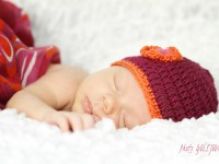 fotografia novorodenec dievca