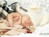 portret novorodenca