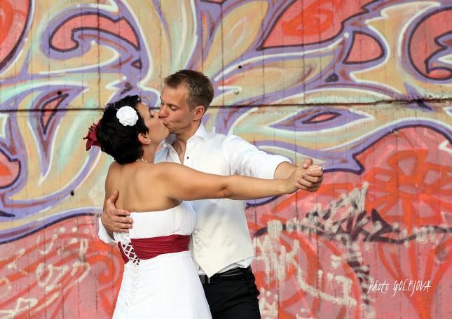 svadba grafiti