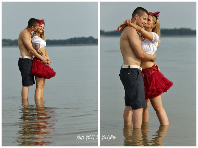 zamilovani v jazere
