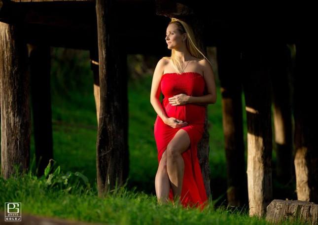 fotografovanie tehotnej maminy