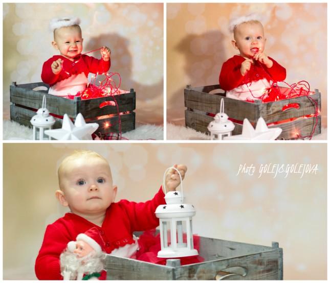 vianoce detske fotky v atelieri