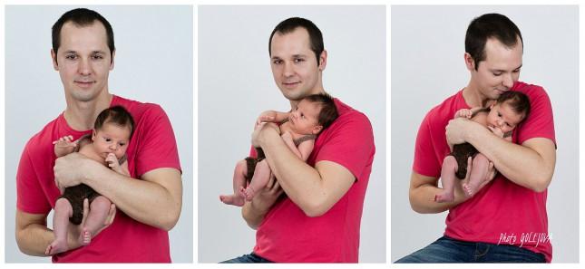 collage syn a otec foto