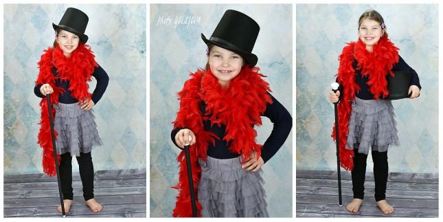 dievcenky portret kostym karneval