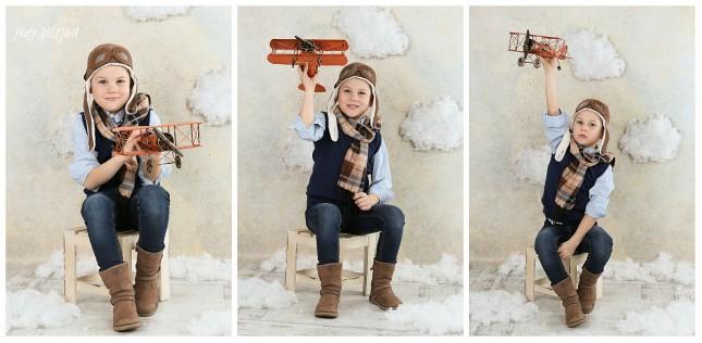 fotky chlapec letcom