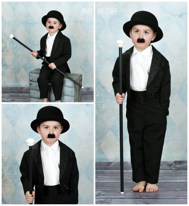 kostym Charly Chaplin