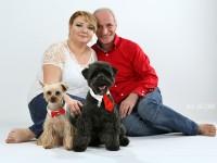 rodinna fotografia a psi milacik