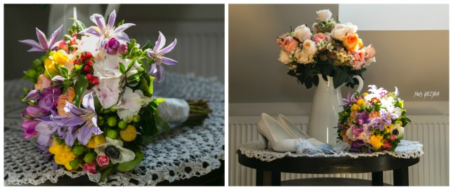 25 svadobna kytica jarne kvety