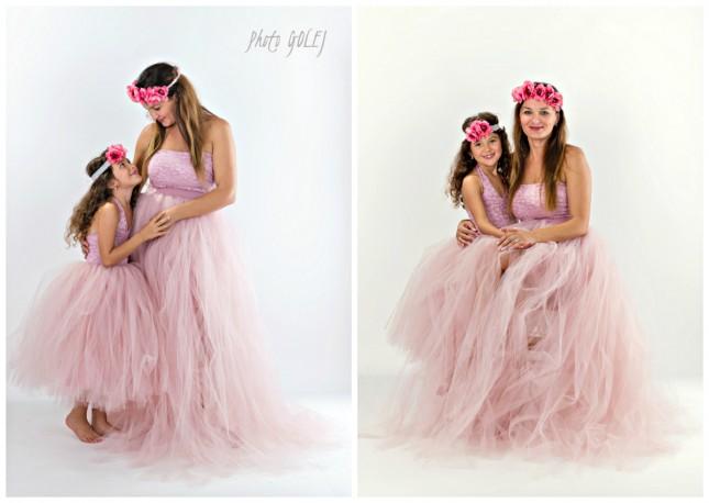 set mama a dcera saty