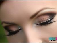 svadobna vizaz vlasy mihalnice riasy