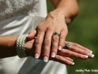 umele gelove nechty na svadbu