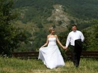 fotenie svadby Devin, kostol Devin