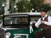 historicke autu na svadbu