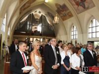svadba v kostole fotenie
