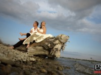styl svadobneho fotenia trash the dress