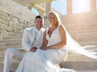 svadba pri mori, na plazi