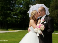 fotenie svadby exterier