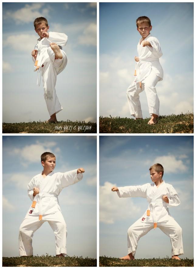 collage karate patrik