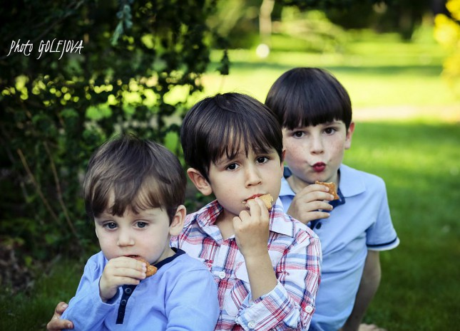 rodinna fotografia chlapci