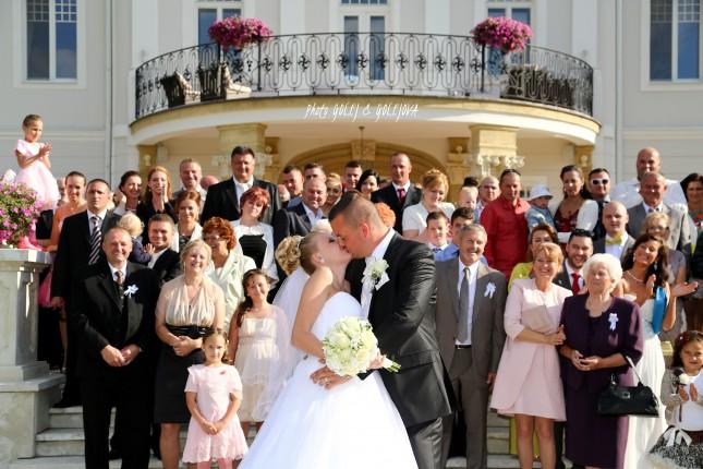 fotenie so svadobcanmi skupinova foto Golejova