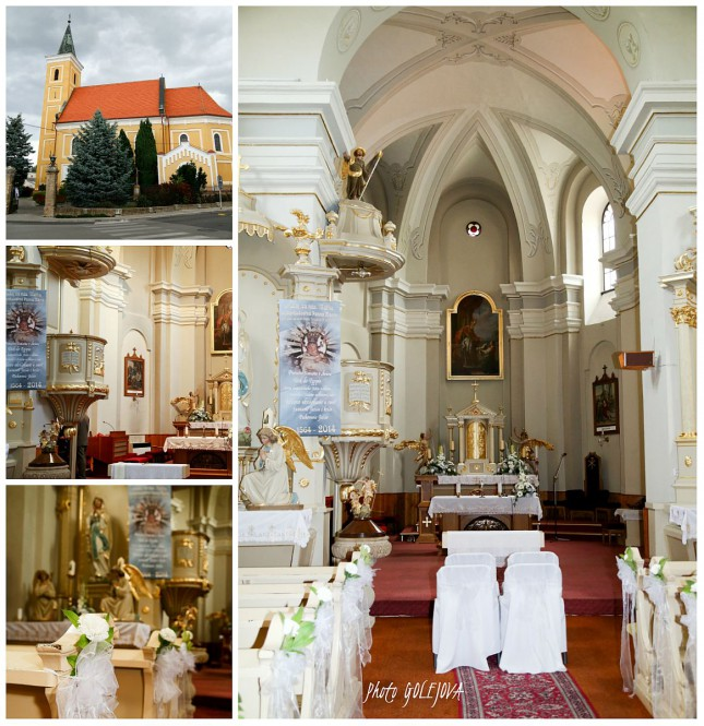 kostol svadba Tomasov