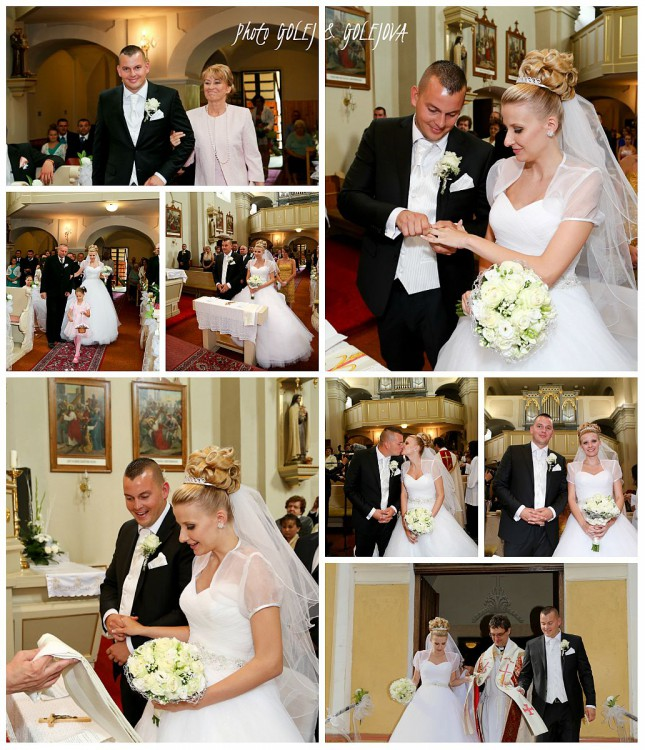 svadobny obrad cirkevny kostol