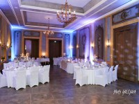 posobivy interier umele osvetlenie nasvietenie svadba