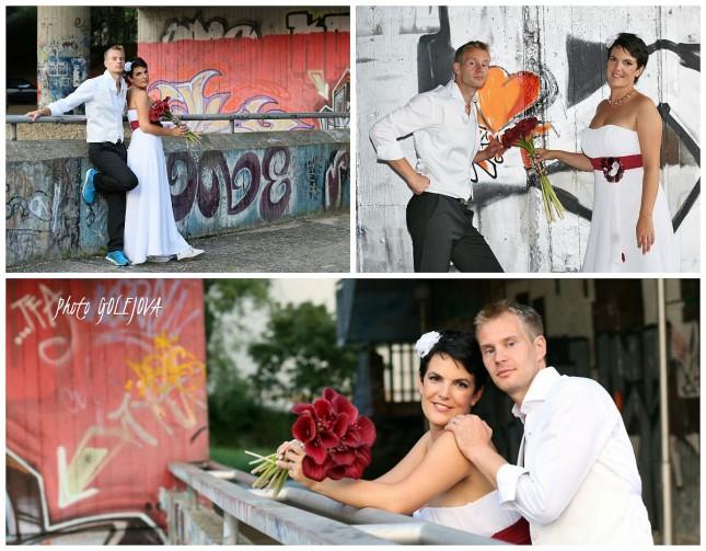 svadba a grafitty