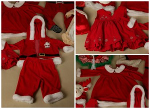 vianočné foto kostymy
