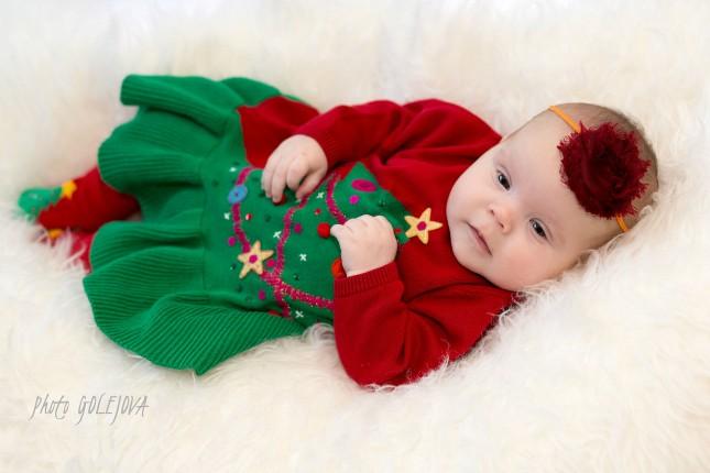 Fotky deti vianocne fotenie