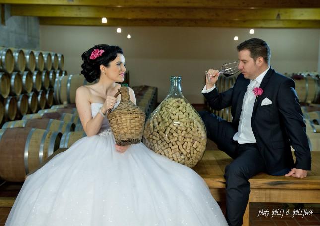 svadba vinna pivnica