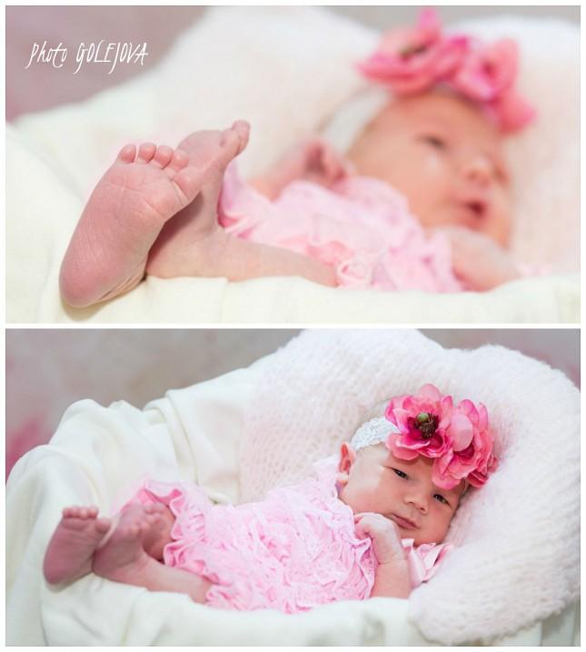 Vaneska novorodenec 12 dni fotka
