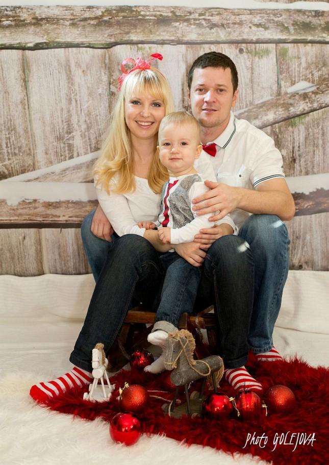 Vianocna fotka fotenie deti