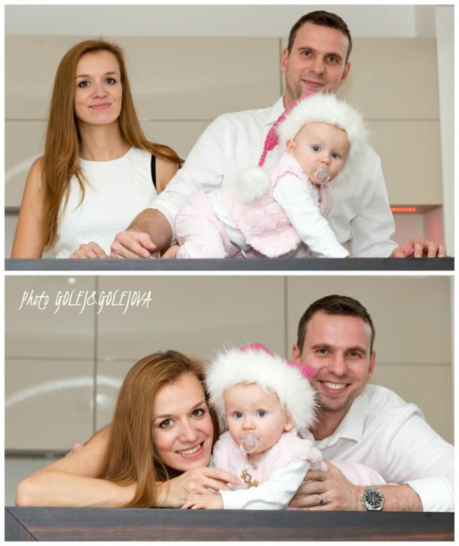 rodinna foto v kuchyni