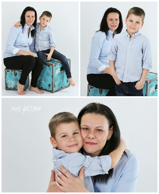 fotky syn s mamou