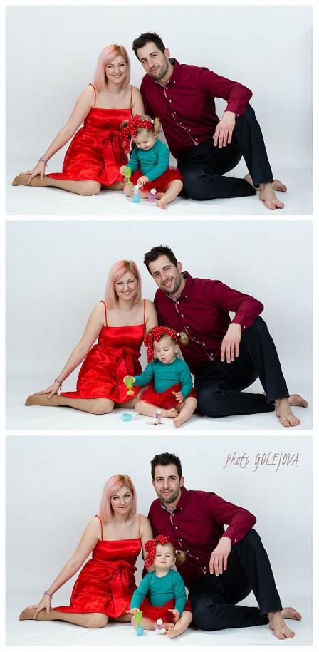 kolaz rodinne foto Golejova