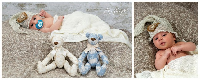 novorodenec a hracky