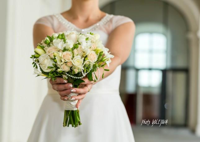 svadobna kytica ruze