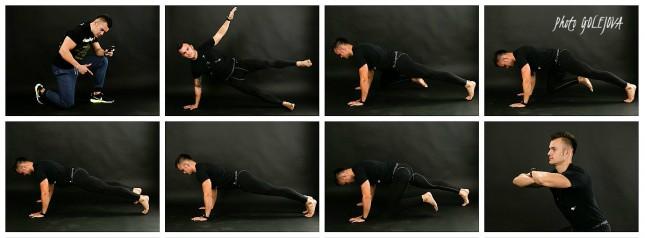 fittness pozy trener
