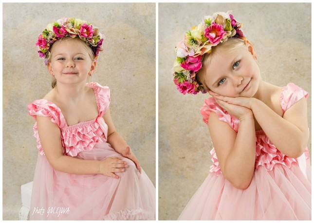 dievca 4 roky portret Bratislava