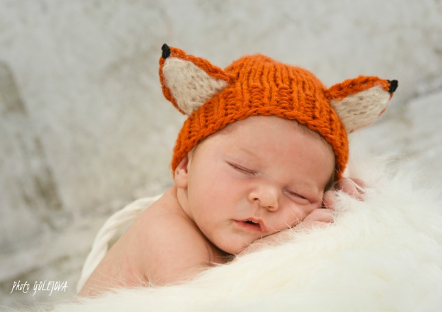 14 listicka novorodenec