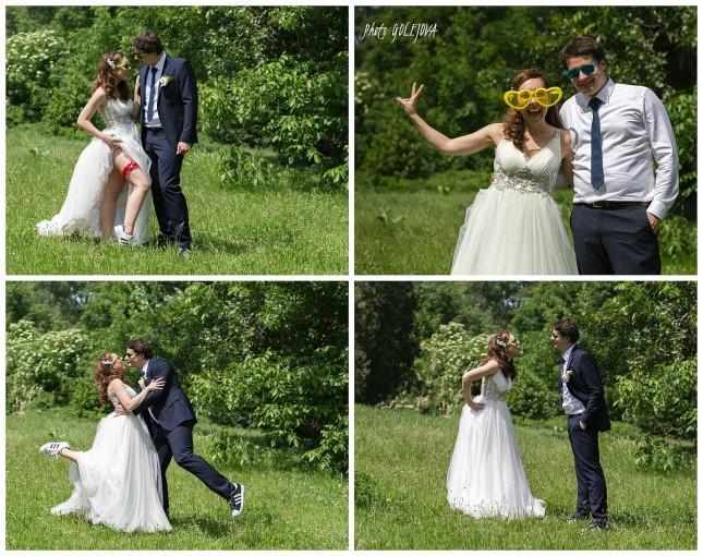 13 vesele svadobne fotky