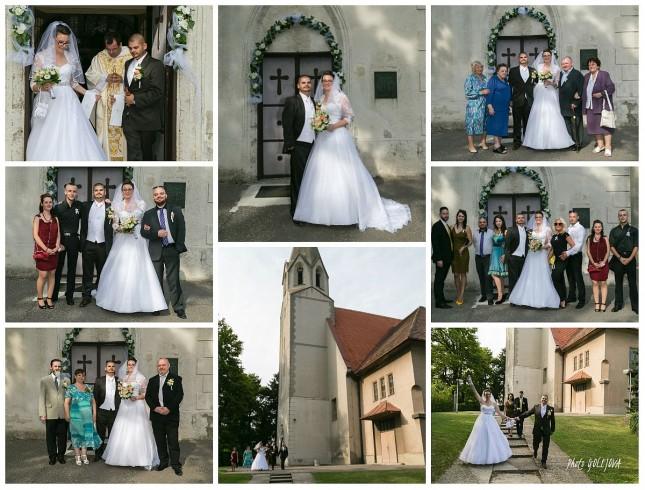 19 po obrade skupinove fotky svadobcania