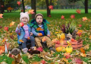 detske foto jesenna priroda