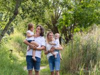 fotenie rodiny letny portret