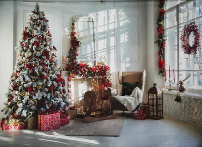 03 Vianočná obývačka v neskorom popoludní