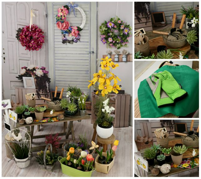 Zátišie so starými dverami - Záhradníctvo
